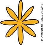 hand drawn blinking sparkly...   Shutterstock .eps vector #2013391247