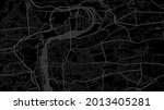 dark black prague city area... | Shutterstock .eps vector #2013405281