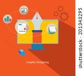 'graphic designing' conceptual...