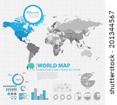 map infographic | Shutterstock .eps vector #201344567