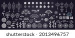 collection of decorative...   Shutterstock .eps vector #2013496757