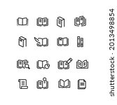 16 simple sets of book related...