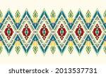 geometric ethnic oriental... | Shutterstock .eps vector #2013537731