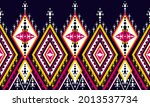 geometric ethnic oriental... | Shutterstock .eps vector #2013537734