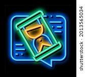 lengthy negotiations neon light ... | Shutterstock .eps vector #2013565034