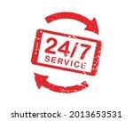 24 7 service open 24 h hours a... | Shutterstock .eps vector #2013653531