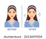 beautiful pretty woman with... | Shutterstock .eps vector #2013695504