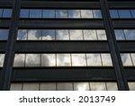 sky in office windows | Shutterstock . vector #2013749