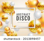 3d abstract background with... | Shutterstock .eps vector #2013898457