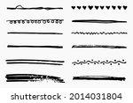 vector set of hand drawn...   Shutterstock .eps vector #2014031804