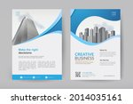 corporate business cover design ...   Shutterstock .eps vector #2014035161