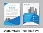 corporate business cover design ...   Shutterstock .eps vector #2014035191