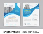 corporate business cover design ...   Shutterstock .eps vector #2014046867