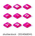 set grave with cross  tombstone ... | Shutterstock .eps vector #2014068341