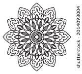 company name mandala nature eps ... | Shutterstock .eps vector #2014093004