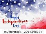 happy independence day holiday...   Shutterstock . vector #2014248374