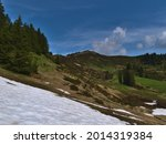Mountain Landscape In The...