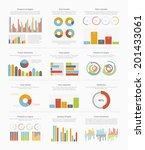 infographic elements big set | Shutterstock .eps vector #201433061