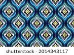 geometric ethnic pattern design ... | Shutterstock .eps vector #2014343117