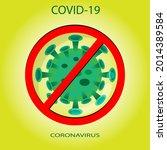 coronavirus covid 19 sars cov 2 ...   Shutterstock .eps vector #2014389584