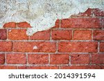 The Background Of A Brick Wall...