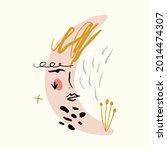 line modern minimalist woman... | Shutterstock .eps vector #2014474307