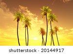beautiful sunset   Shutterstock . vector #20144917