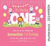 1st Birthday Party Invitation...