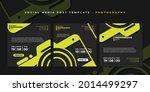 set of social media template....   Shutterstock .eps vector #2014499297
