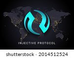 injective protocol crypto...   Shutterstock .eps vector #2014512524