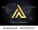 apollo currency crypto currency ...   Shutterstock .eps vector #2014519127