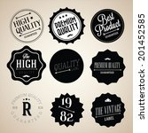 collection of premium quality... | Shutterstock .eps vector #201452585