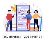 english grammar examination... | Shutterstock .eps vector #2014548434