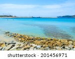 turquoise sea water of spiaggia ... | Shutterstock . vector #201456971