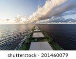 cargo ship under way | Shutterstock . vector #201460079
