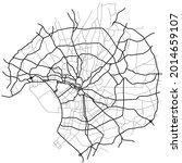 tokyo city map  japan    town... | Shutterstock .eps vector #2014659107