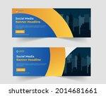 business social media cover or... | Shutterstock .eps vector #2014681661
