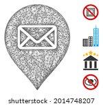 mesh post office marker web... | Shutterstock .eps vector #2014748207