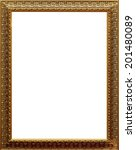 empty picture frame | Shutterstock . vector #201480089
