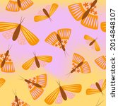colorful seamless pattern with... | Shutterstock .eps vector #2014848107