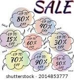 best discount trendy sign price ...   Shutterstock .eps vector #2014853777