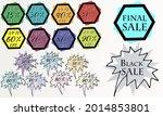 best discount trendy sign price ...   Shutterstock .eps vector #2014853801