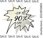 best discount trendy sign price ...   Shutterstock .eps vector #2014853804