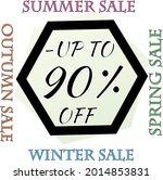 best discount trendy sign price ...   Shutterstock .eps vector #2014853831