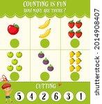 math count number worksheet...   Shutterstock .eps vector #2014908407