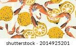 seamless pattern  background ...   Shutterstock .eps vector #2014925201