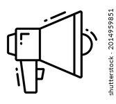speaker trendy icon  line style ...