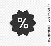 vector illustration of percent...