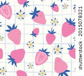 seamless pattern with colorful... | Shutterstock .eps vector #2015078321