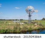 Windwatermill Draining Wetland...